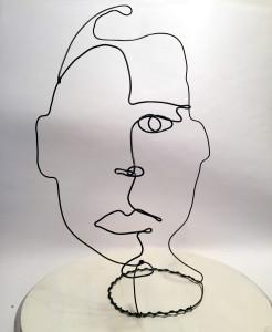 Wire Sculpture by Frank Marino Baker Neiman Marcus