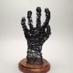 Wire Sculpture Hand Back