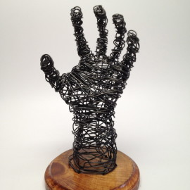 Wire Sculpture Hand