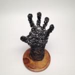 Wire Sculpture Hand Top