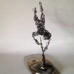 Wire Sculpture Man 3 - wire art