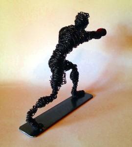 wire sculptuer Clout-s boxer 6