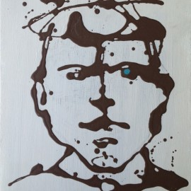 Frank Marino Baker Drip Painting