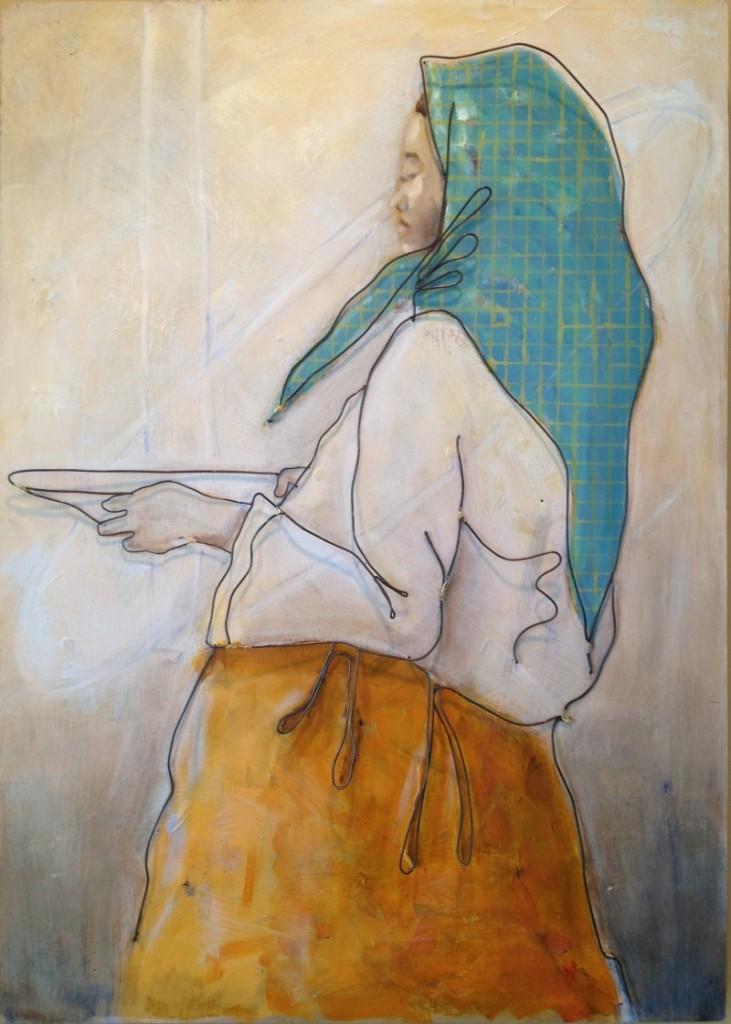 prayer: wire art