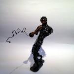 Miles Davis Wire Sculpture