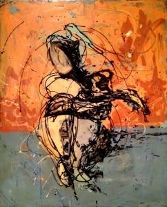Metastasis Drip painting by Frank Marino Baker