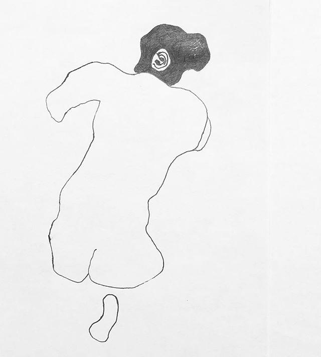 F. Marino Baker Art Sketch