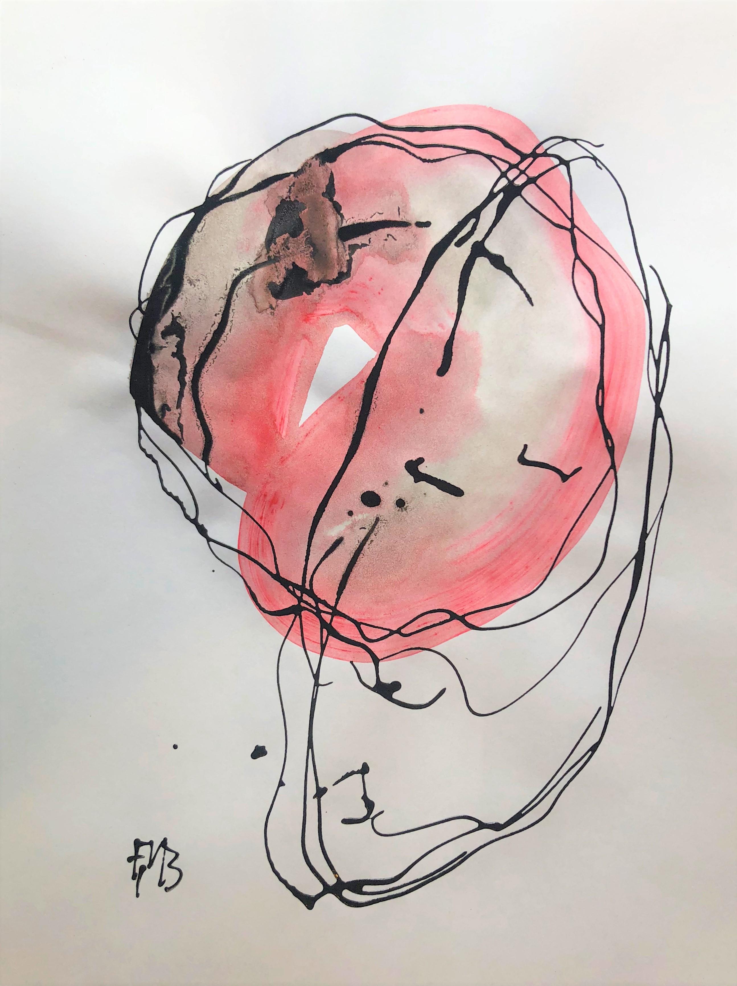 Thinking abstract painting Frank Marino Baker