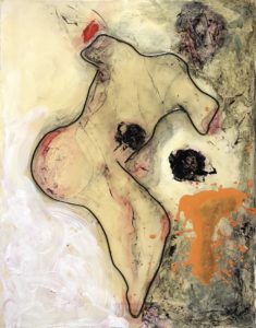 Mother abstract art By Frank Marino Baker